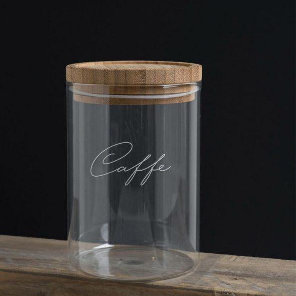 Barattolo caffè in vetro-Luxe Lodge