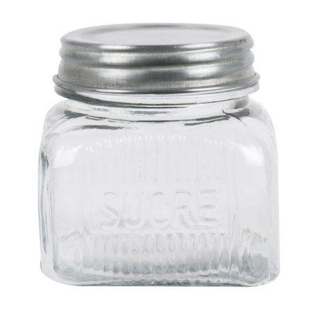 Barattolo in vetro zucchero