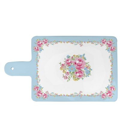 Tagliere in porcellana Marie Rose Azzurro - Isabelle Rose