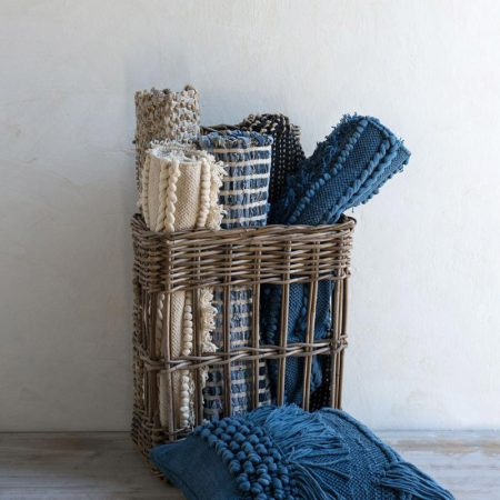 Tappeto in Cotone bianco - Luxe Lodge