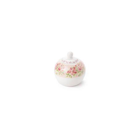 Zuccheriera In porcellana Elizabeth – Nuvole di Stoffa