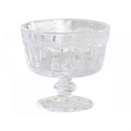 Coppa in vetro Antoinette - Chic Antique