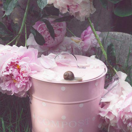 Bidone rifiuti rosa - Isabelle Rose