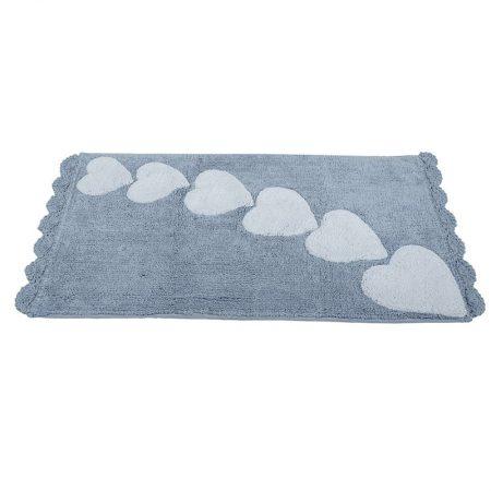 Tappetto bagno Alba grigio – Nuvole di Stoffa
