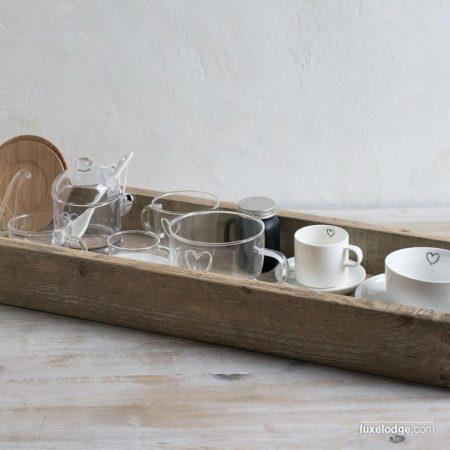 Tazza latte in vetro - Luxe Lodge